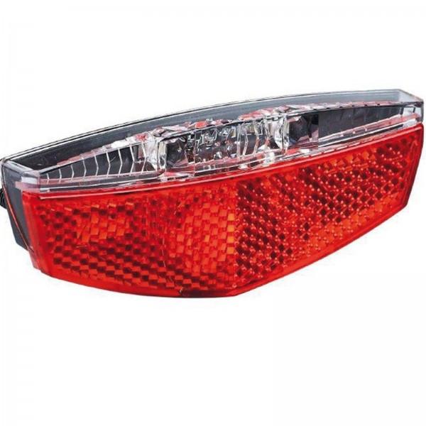 Büchel LED Rücklicht Tivoli m. Standlicht Gepäckträger 50-80 mm