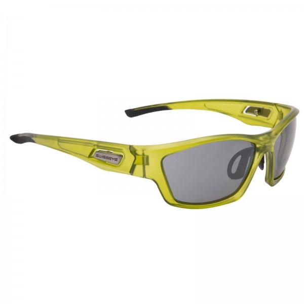 Swisseye Sonnenbrille Trail Rahmen crystal grün matt / Polycarbonatscheiben smoke
