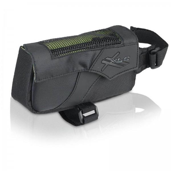XLC Oberrohrtasche BA-S60 schwarz/anthrazit Klettverschluss