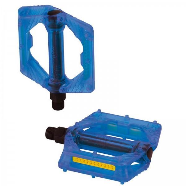 XLC BMX/Freeride-Pedale PD-M16 blau transp.