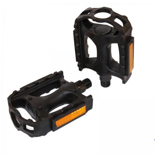Pedale ATB/TR Kunststoff P4B 9/16 schwarz