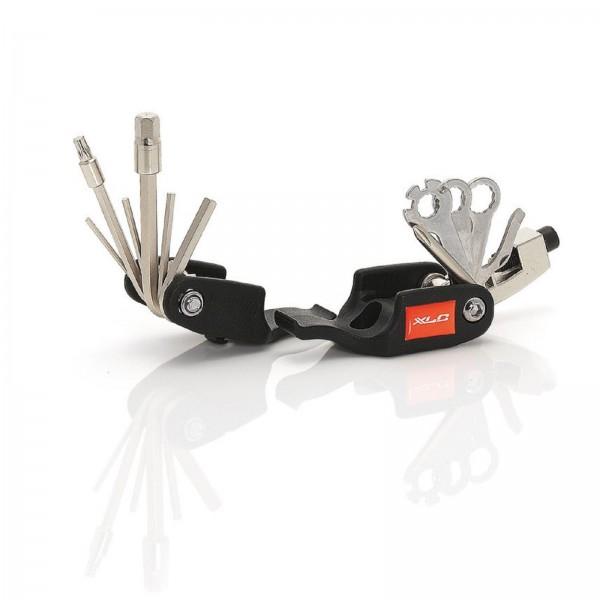 XLC Fahrrad Miniwerkzeug Set TO-M05 19-teilig