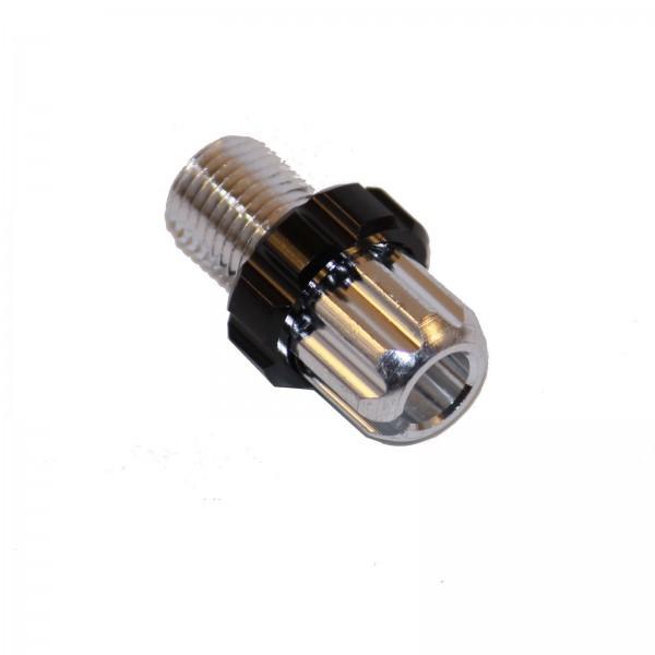 Stellschraube für Bremshebel M10x1 Feingewinde silber/schwarz