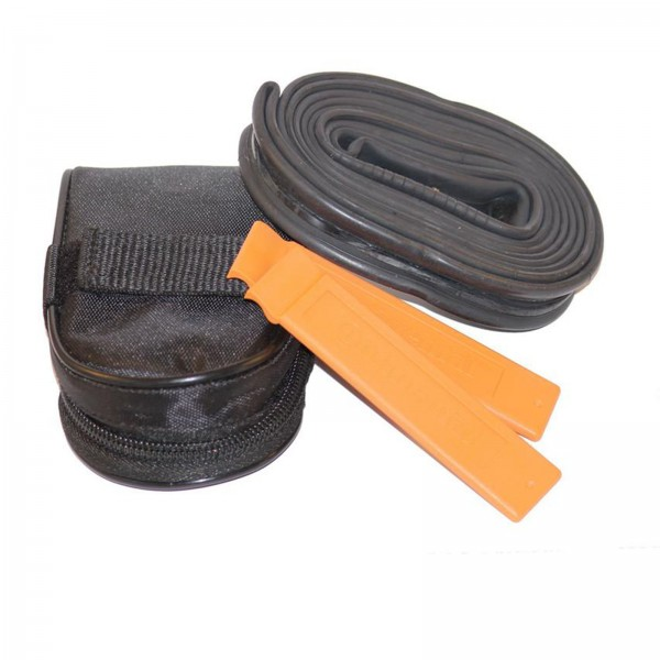 Continental Satteltasche schwarz incl. Schlauch 700C SV/Reifenheber