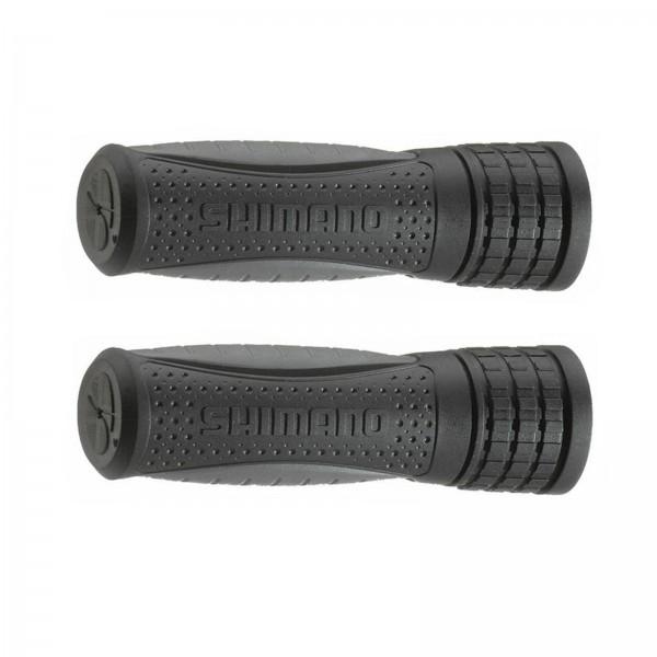 Herrmans Lenkergriffe Shimano 120mm schwarz/grau
