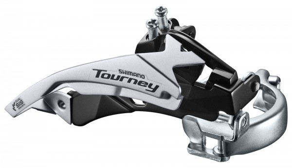 Shimano Umwerfer 28,6/31,8/34,9mm DownSwing DualPull FD-TY500